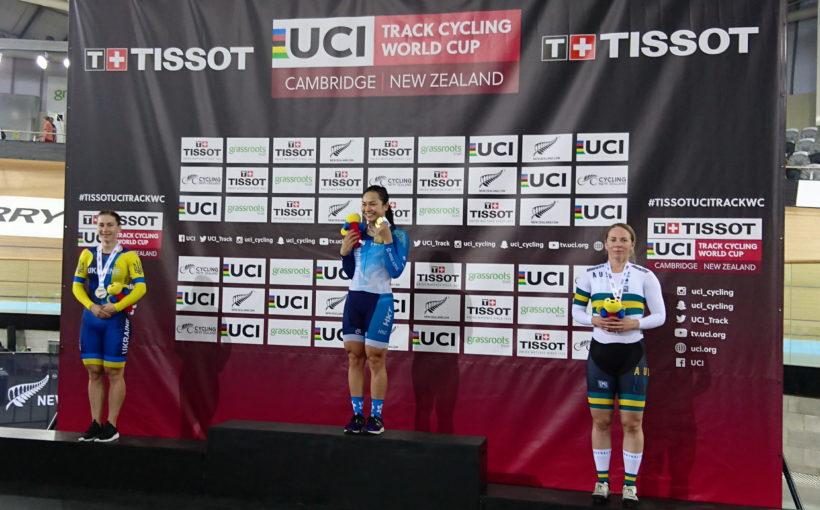 Львівська велосипедистка Олена Старікова – срібна призерка етапу Кубка світу
