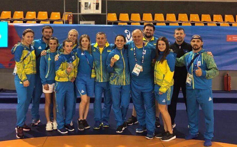 Львівські борчині вивели збірну України на перше місце у командному заліку