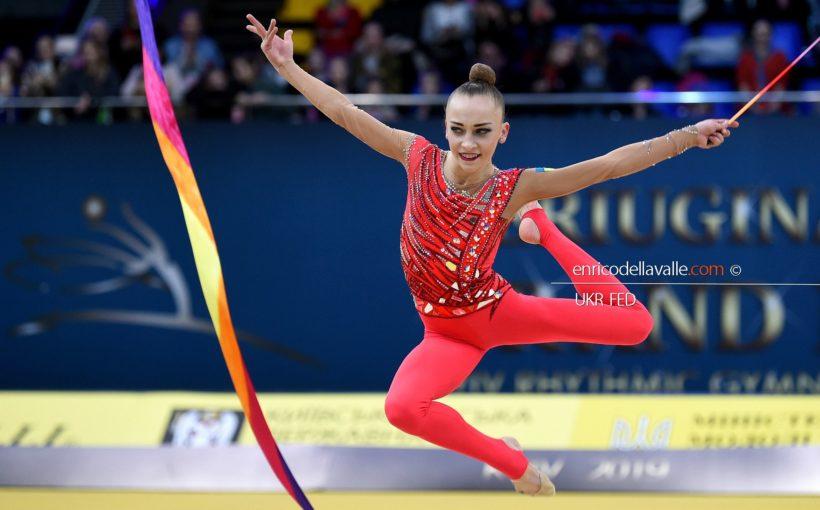 Христина Погранична стала п'ятою і шостою в окремих вправах на етапі Кубка світу в Мінську