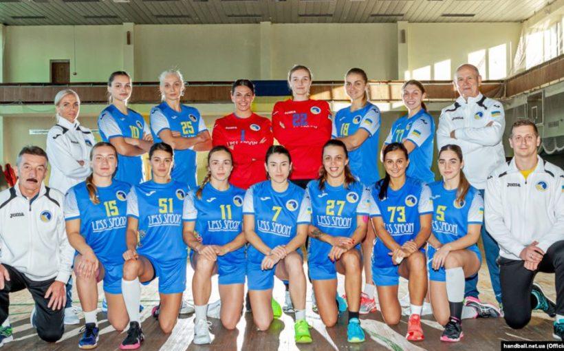 Жіноча збірна України з гандболу програла на старті відбору Євро-2020