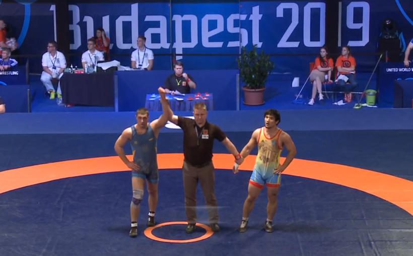 Львів'янин Данило Стасюк став бронзовим призером чемпіонату світу зі спортивної боротьби U-23 в Будапешті