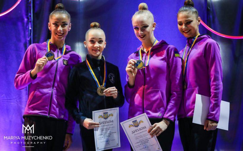 Христина Погранична стала абсолютною чемпіонкою України з художньої гімнастики
