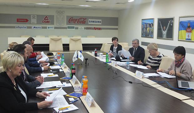 В Олімпійському домі відбулося чергове засідання Комісії НОК «Закордонне українство»