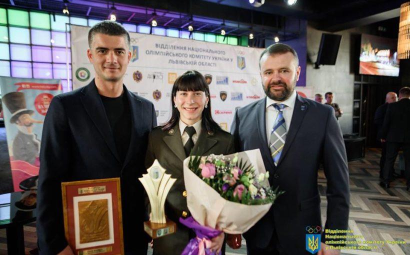 Олена Старікова – найкраща спортсменка Львівщини за підсумками жовтня 2019 року!