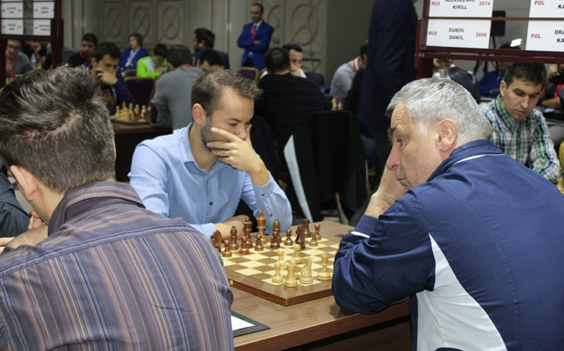 Віце-чемпіони Європи з шахів прилетіли до Львова. Щоб обійти Росію треба було перемагати хорватів