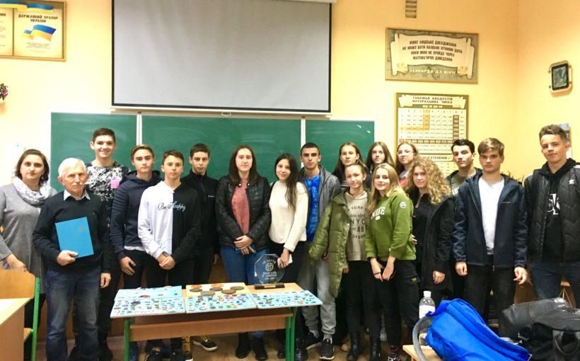 Десятикласники Львівського училища фізичної культури познайомилися з 95-річною історією діяльності Карпатського Лещетарського Клубу