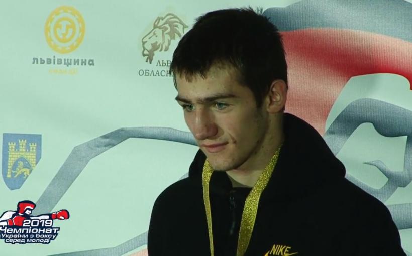 На молодіжному чемпіонаті України з боксу львів'яни виграли повний комплект медалей