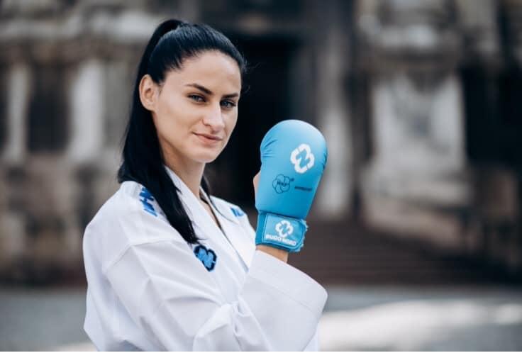 Галина Мельник стала бронзовою призеркою етапу Прем'єр-ліги з карате в Мадриді і покращила свої шанси здобути олімпійську ліцензію