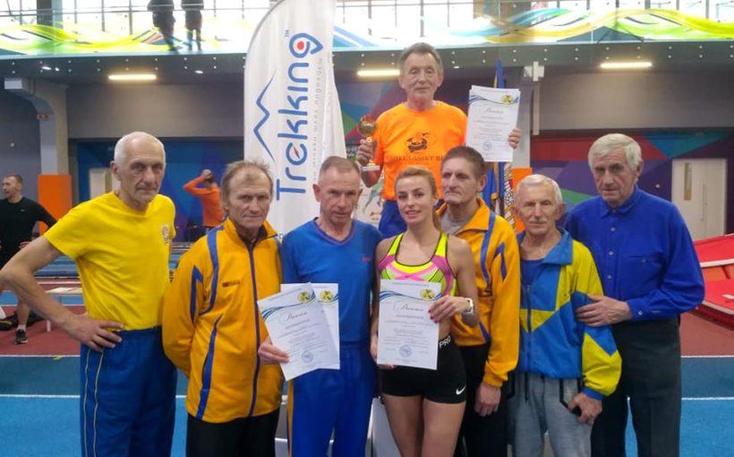 Львівські легкоатлети здобули низку медалей на Кубку України серед ветеранів