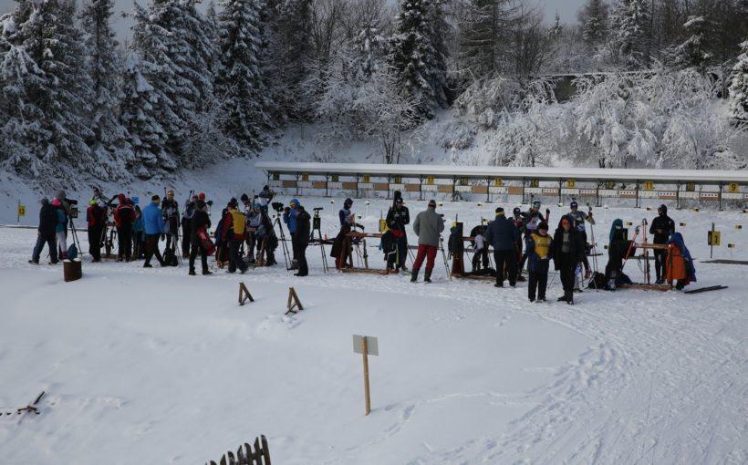 Збірна Львівщини стала третьою на чемпіонаті України з біатлону в жіночій естафеті