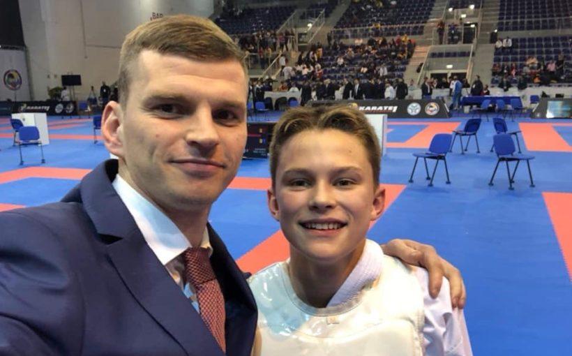 Тимур Нікулін виграв четвертий етап Молодіжної ліги Karate1 2019 в Італії