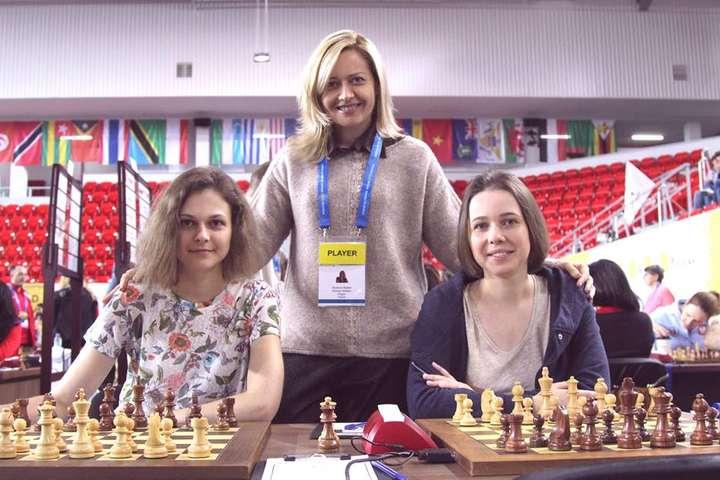 Сестри Музичук в ТОП-8 на чемпіонаті світу з рапіду: від чемпіонки відстали на пів очка