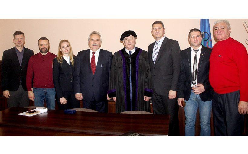 Президентові Федерації волейболу України у Львові присвоїли найвище академічне звання – Doctor honoris causa ЛДУФК