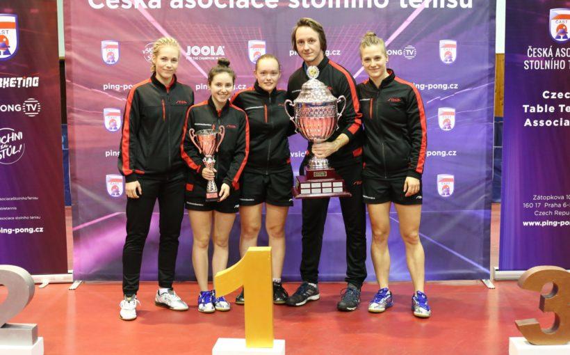 Соломія Братейко стала володаркою командного Кубка Чехії з настільного тенісу