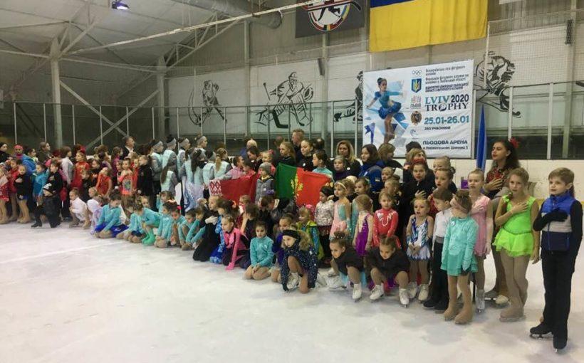 В Новояворівську завершився відкритий чемпіонат Львівської області з фігурного катання на ковзанах