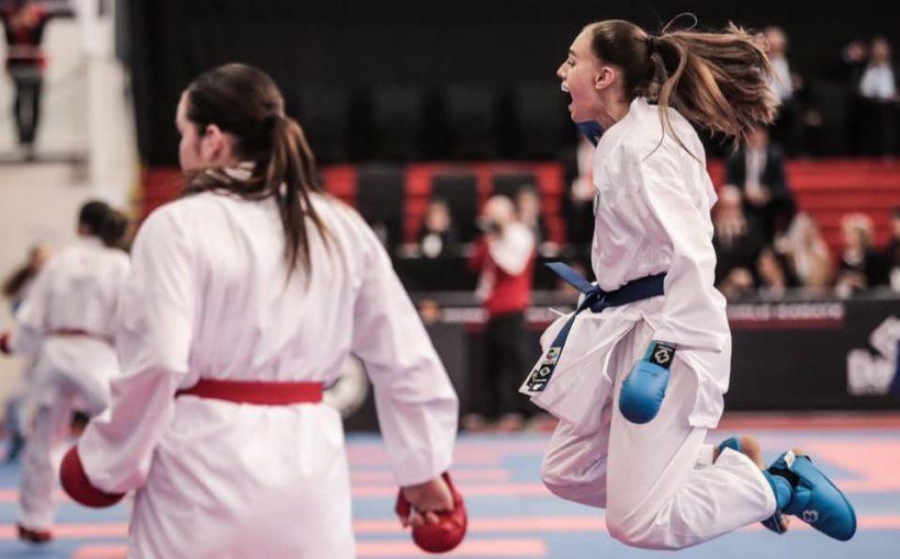 На етапі Прем'єр-Ліги Karate1 2020 в Парижі 19-річна Діана Шостак перемогла двох каратисток з ТОП-10 світового рейтингу