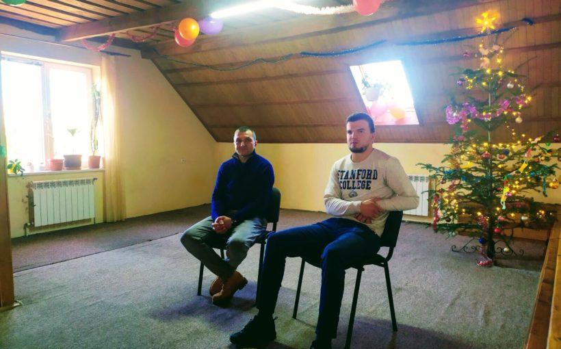 Знаний саночник Антон Дукач провів мотиваційну зустріч із людьми з залежностями