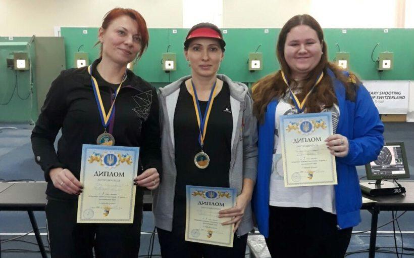 Львів'яни виграли Відкритий зимовий чемпіонат України з пневматичної зброї зі стрільби кульової