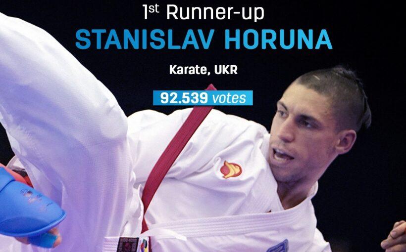 Станіслав Горуна став другим найкращим Атлетом 2019 року в світі