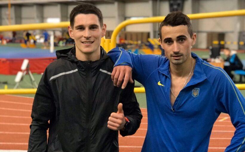 Роман Ростикус став чемпіоном України з легкої атлетики в приміщенні