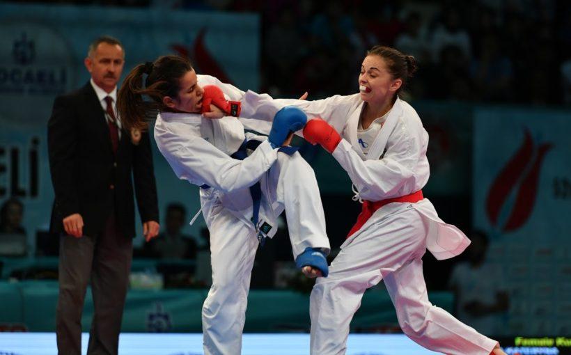 У перший день етапу Прем'єр-Ліги Karate1 2020 в Парижі найкраще серед львів'ян виступила Катерина Крива