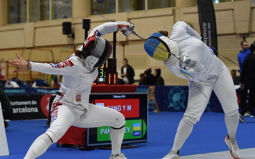 Ксенія Пантелеєва стала найкращою серед українок на етапі Кубка світу з фехтування на шпагах в Барселоні