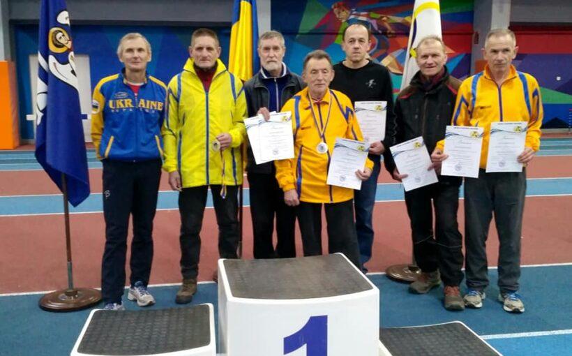 Львівські легкоатлети-ветерани здобули низку медалей на чемпіонаті України в Києві