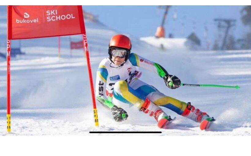 Максим Карпушин став чемпіоном України з гірськолижного спорту серед юнаків