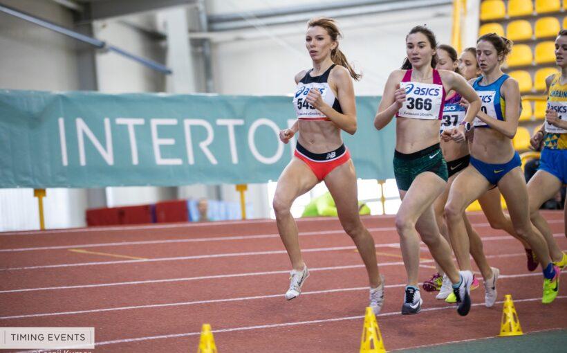 Орися Дем'янюк (Мочульська) стала чемпіонкою України з легкої атлетики в приміщенні