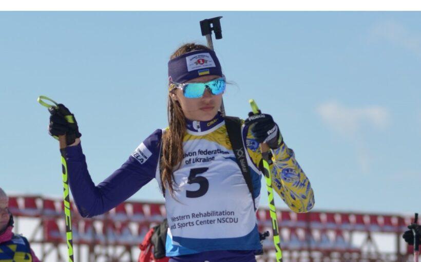 Юлія Городна замкнула чільну десятку в гонці переслідування на юніорському чемпіонаті України з біатлону