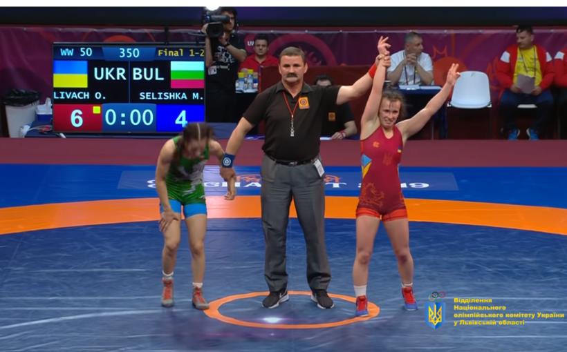 Оксана Лівач захищатиме звання чемпіонки Європи з минулорічною суперницею по фіналу у її день народження