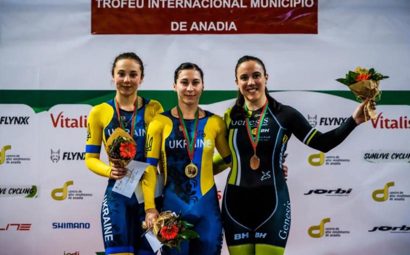 """Олена Старікова здобула """"золото"""" в кейріні на міжнародних змаганнях в Португалії. Вчора було """"срібло"""" у спринті"""