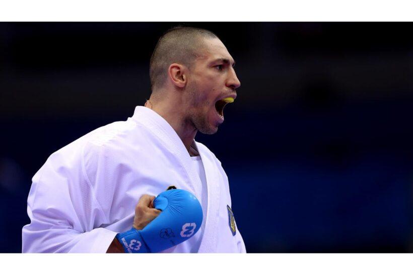 """Станіслав Горуна у свій день народження здобув """"срібло"""" на етапі Прем'єр-Ліги Karate1 2020 в Австрії"""