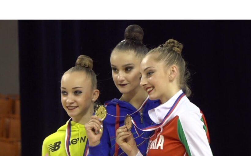 """Христина Погранична здобула """"срібло"""" у багатоборстві на етапі Grand Prix Brno з художньої гімнастики"""