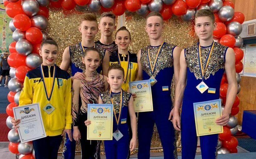 Дрогобичанки стали абсолютними переможницями чемпіонату України зі спортивної акробатики