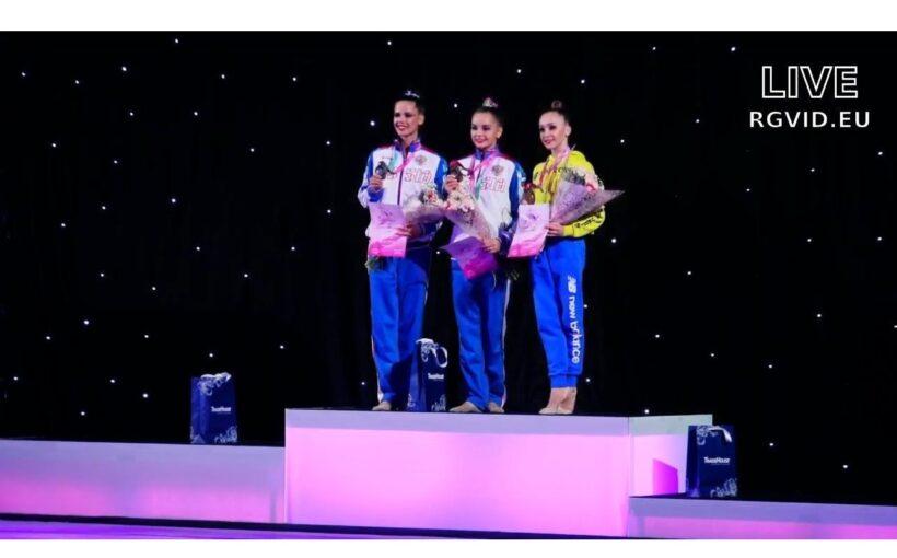 """Христина Погранична здобула """"бронзу"""" на естонському етапі Гран-Прі з художньої гімнастики"""