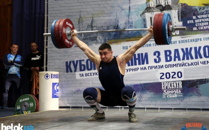 Богдан Гоза став переможцем Кубка України з важкої атлетики, лише на 1 кг випередивши головного конкурента