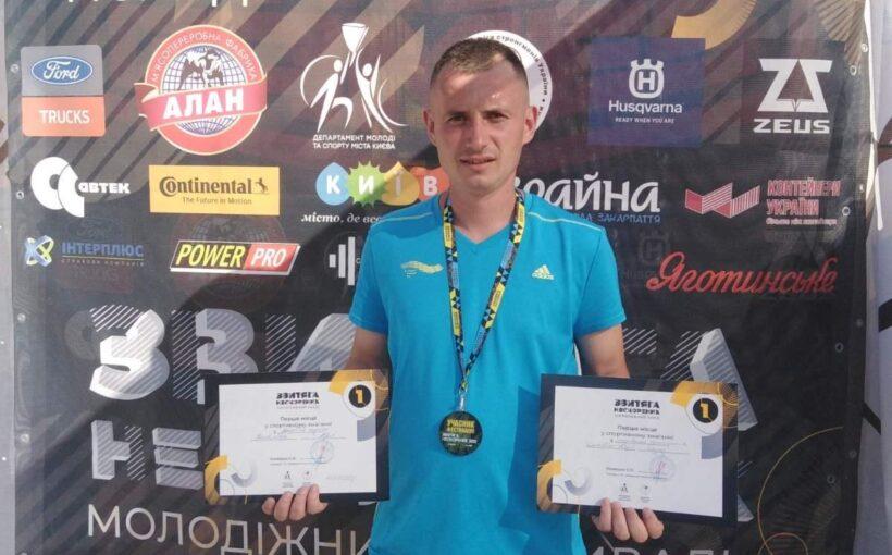 Учасник російсько-української війни зі Львова став переможцем «Звитяги Нескорених» у двох дисциплінах