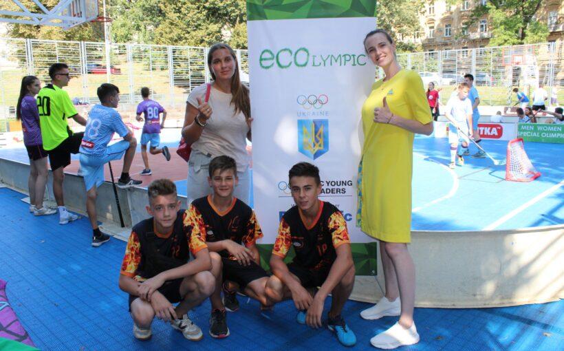 У Львові відбувся перший в Україні вуличний турнір з флорболу 3х3: в його рамках презентували проєкт ECOlympic