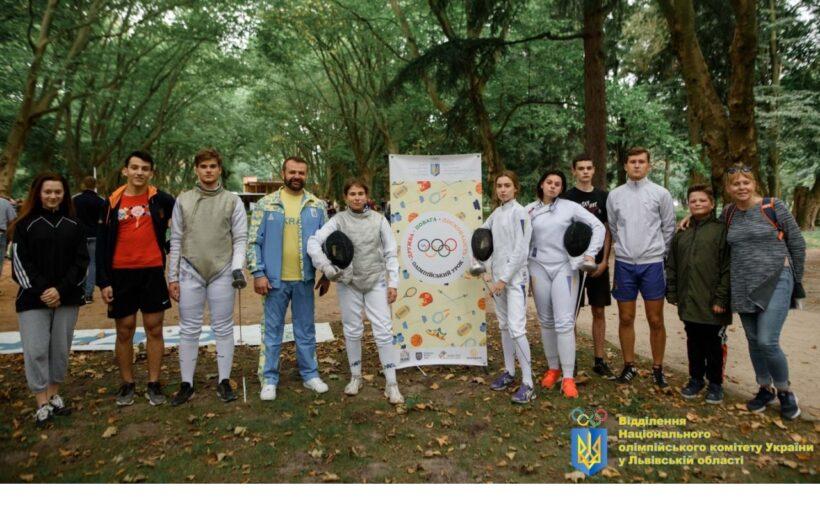 На Олімпійському уроці – понад 300 вихованців Львівського коледжу спорту