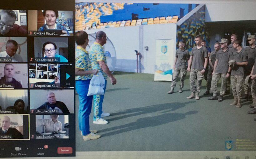 Львівське відділення НОК поділилося з олімпійською родиною України досвідом проведення заходів в рамках проекту #OlympіcLab