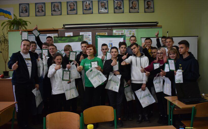 Відбувся модуль #ECOlympic – «Здорове харчування» у місті Львові