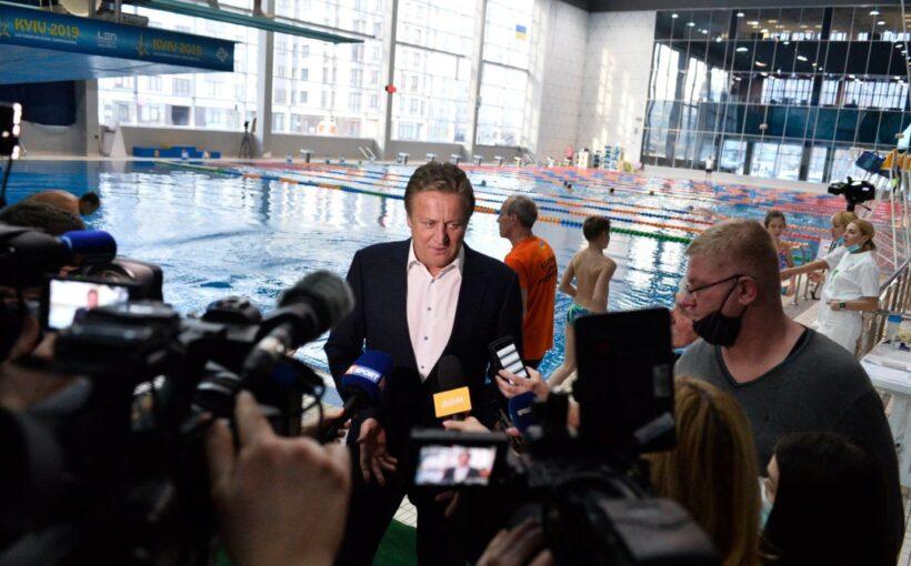 Четверо спортсменів Львівщини змагаються у відкритому Кубку України зі стрибків у воду