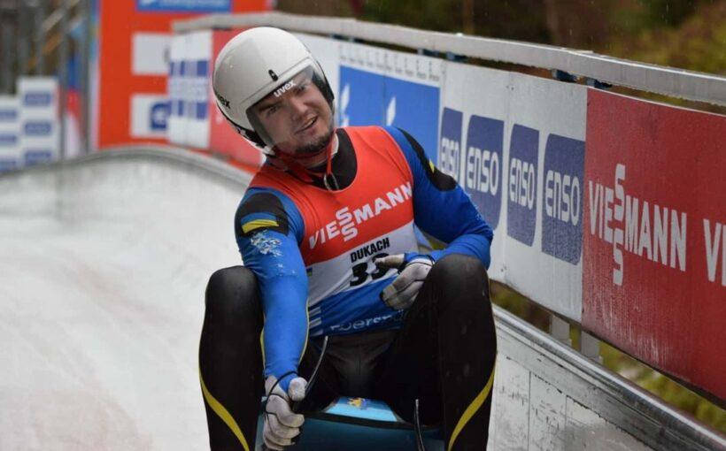 Найкращим спортсменом Львівщини на підсумками лютого 2021 року визнано санкаря Антона Дукача