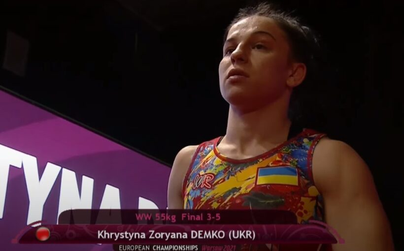22-річна Христина-Зоряна Демко – найкраща спортсменка Львівщини за підсумками квітня 2021 року!