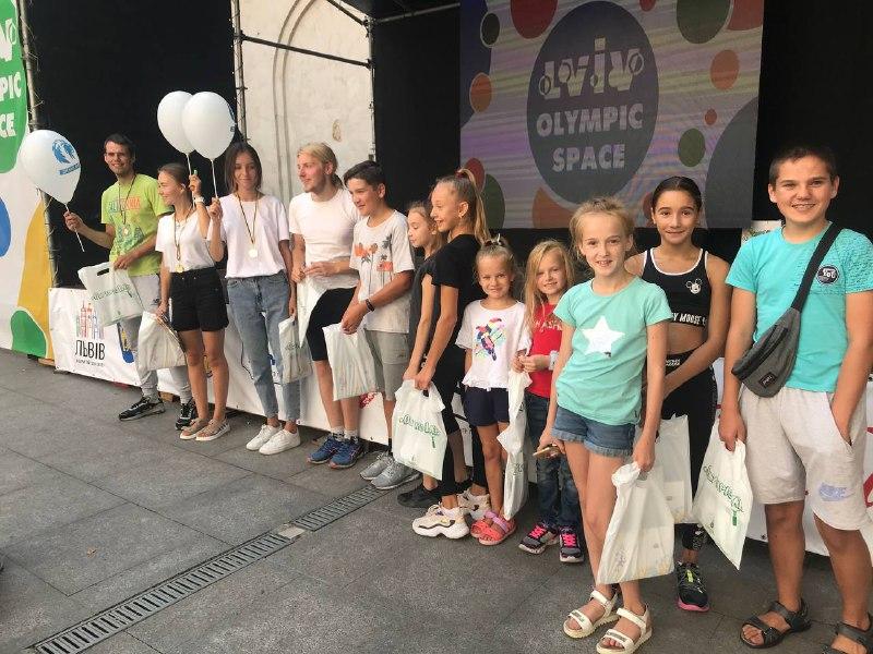 Пізнаємо себе у рамках «Lviv Olympic Space»