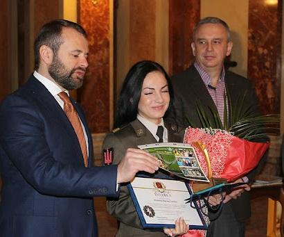 Олімпійські зустрічі з Юрієм Турянським. Вероніка Марченко