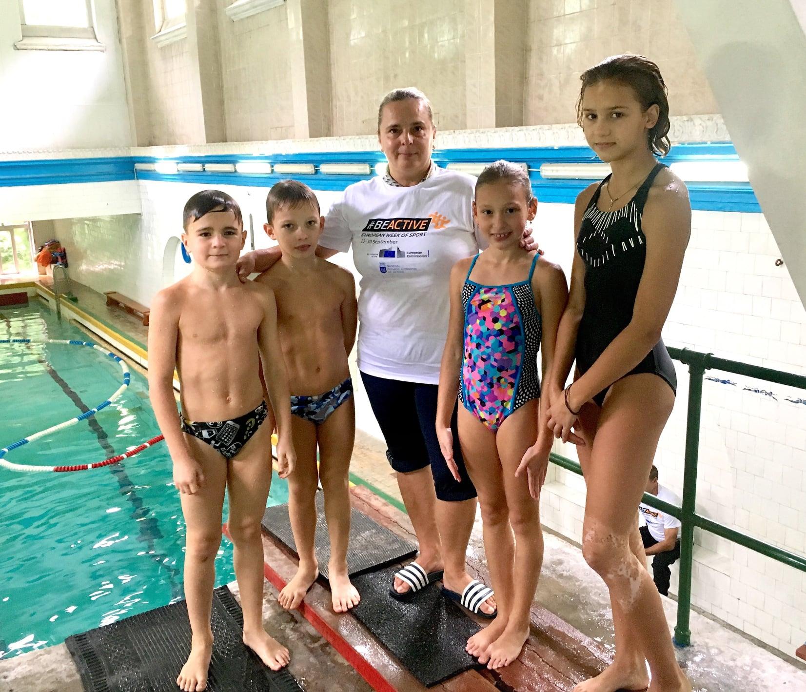 Відкрите тренування #BeActive з юними львівськими стрибунами у воду