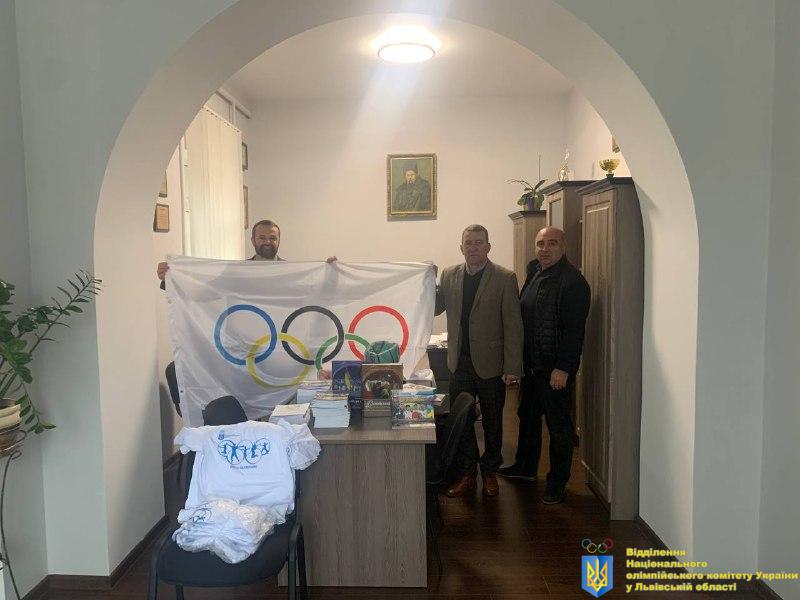 Львівський олімпійський осередок розпочинає активну співпрацю з Рудківською ТГ!